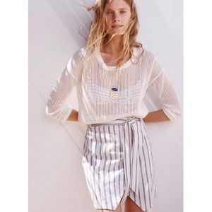 NWT Madewell Cream Northshore Pullover Sweater XS